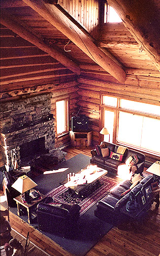 Hebgen Lake Residence Great Room